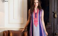 latest shariq textile Libas Embroidered lawn collection