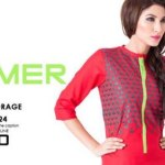 Latest funky color spring summer dresses 2014