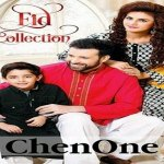 Chen One Eid Formal Dresses For Men Women 2014