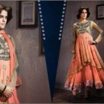 Women fancy frocks 2014 latest collection