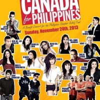 Canada for Philippines Benefit Concert with World Vision and Kol Hope Foundation