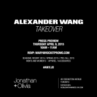 Alexander Wang Takeover at Jonathan + Olivia