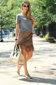 fringe is fall's biggest trend 5 ways to wear it now