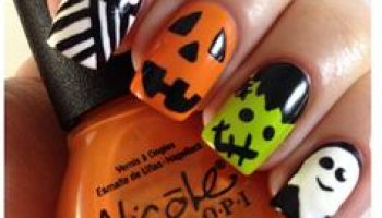 Back to school nail art ideas 2014 halloween nail designs nail art trends prinsesfo Choice Image