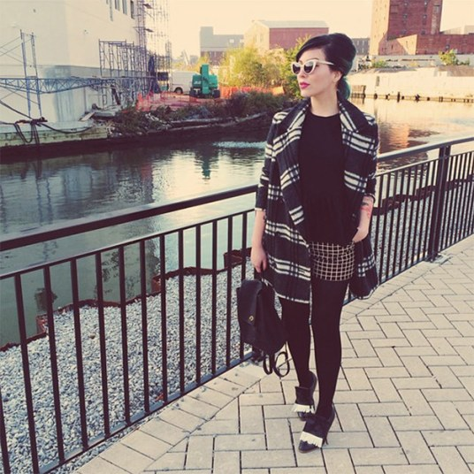 Trendy Attire; How to wear Patterns Together.
