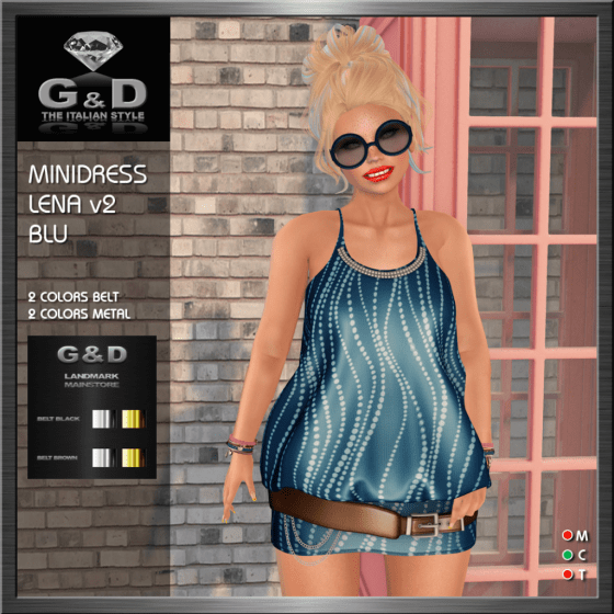 G&D Minidress Lena Blu v2
