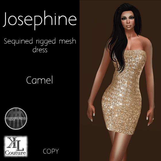 Josephine dress camel