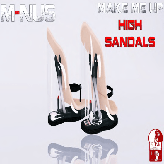 M-NUS - MAKE ME UP HIGH SANDALS