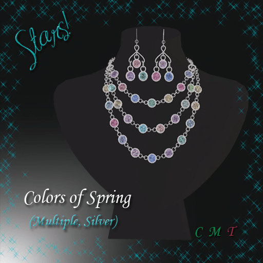 Colors of Spring (multiple, silver)