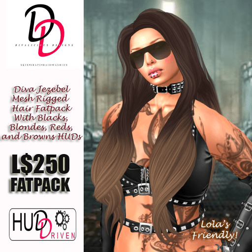 Diva Jezebel Mesh Hair Poster Final