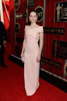 Felicity Jones in Balenciaga
