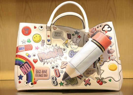 An Anya Hindmarch bag