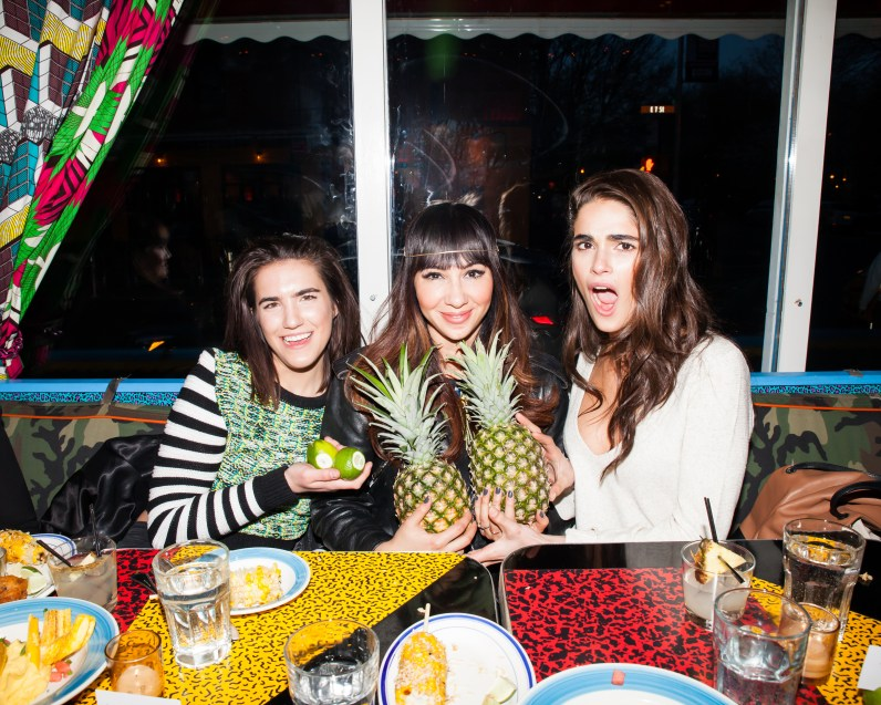 Sarah Hutchison, Gabriella Lopez, Jackie Cruz