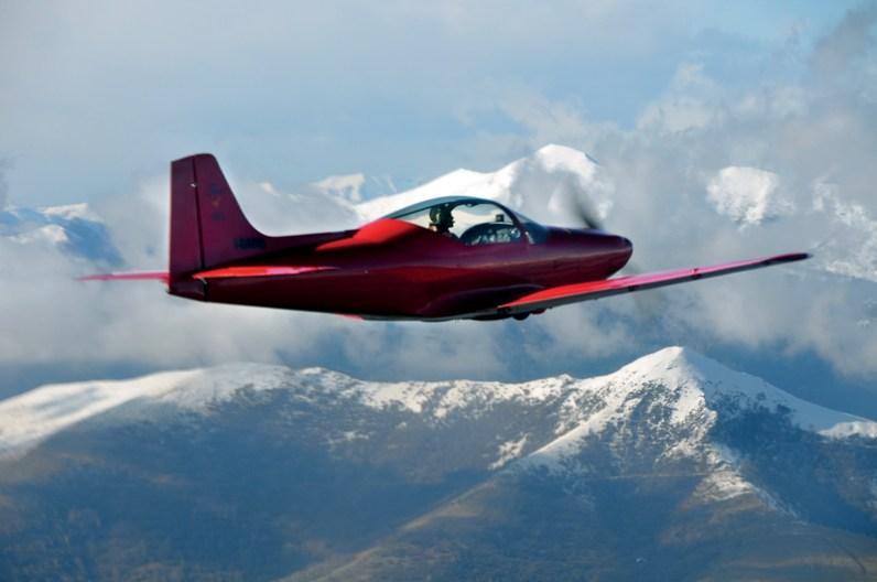 The Falco F8L takes flight!