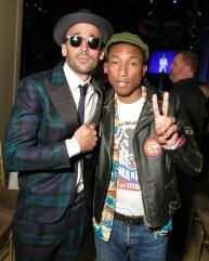 JR, Pharrell
