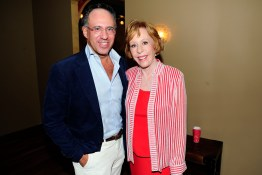 "Andrew Saffir, Carol Burnett== Time Life and The Cinema Society host a screening of ""The Carol Burnett Show: The Lost EpisodesÓ== Tribeca Grand Hotel, NYC== September 17, 2015== ©Patrick McMullan== Photo - Paul Bruinooge/PatrickMcMullan.com== =="