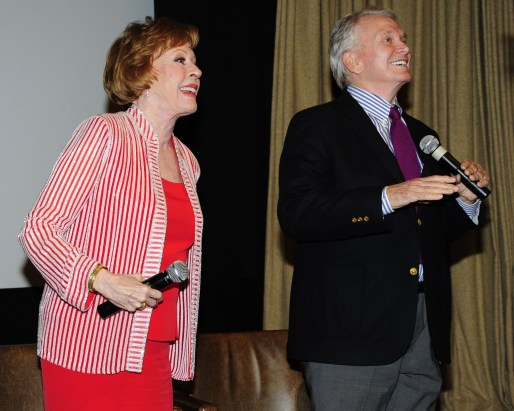 "Carol Burnett, Bob Mackie==Time Life and The Cinema Society host a screening of ""The Carol Burnett Show: The Lost EpisodesÓ==Tribeca Grand Hotel, NYC==September 17, 2015==©Patrick McMullan==Photo - Paul Bruinooge/PatrickMcMullan.com===="
