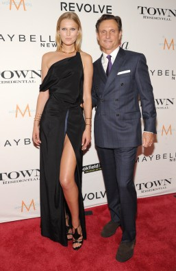NEW YORK, NY - SEPTEMBER 10: Model Toni Garrn and actor Tony Goldwyn attend The Daily Front Row's Third Annual Fashion Media Awards at the Park Hyatt New York on September 10, 2015 in New York City. (Photo by Rommel Demano/Getty Images for The Daily Front Row)
