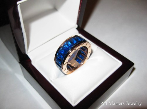 Medium Of Mens Sapphire Rings