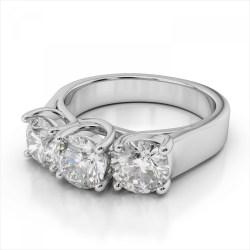 Small Crop Of 3 Carat Diamond Ring