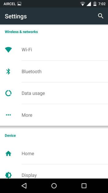 Block wifi connection in Moto X