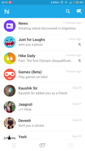 How to use HIKE Messenger ?