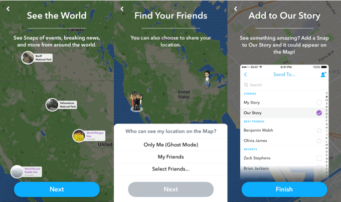How To Use Snap Map