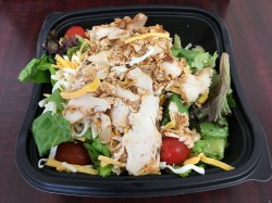 Showy K Fil A Spicy Southwestern Salad Fast Food Geek Mcdonalds Southwest Salad Dressing Calories Mcdonald S Southwest Salad Healthy
