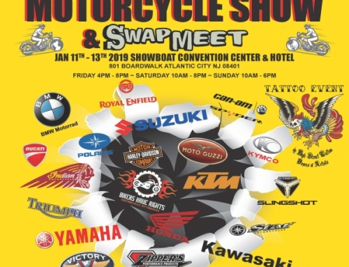 JAM ON PRODUCTIONS BRINGS INTERNATIONAL MOTORCYCLE SHOW TO ATLANTIC CITY, NJ