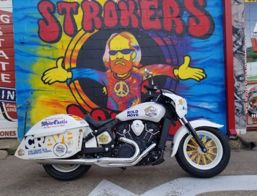"White Castle and 2017 Cravers Hall of Fame Inductee Debut the ""White Castle Crave Cruiser"" Custom Motorcycle"