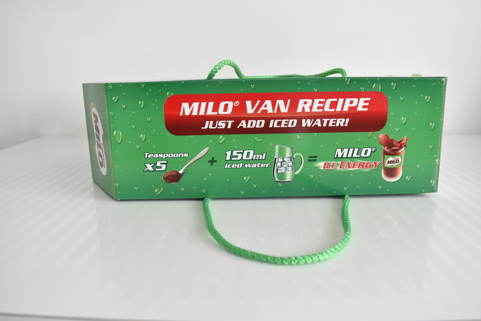 Milo Ice Energy Your Van Recipe Explodingbelly Sachet