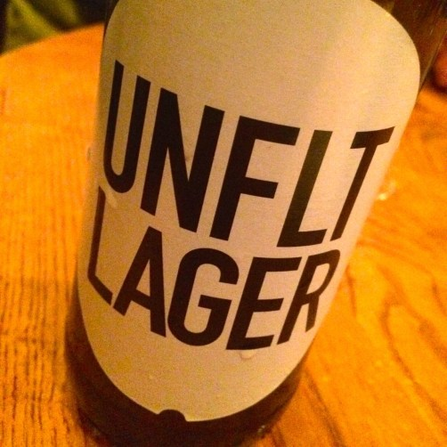 unfiltered lager and union