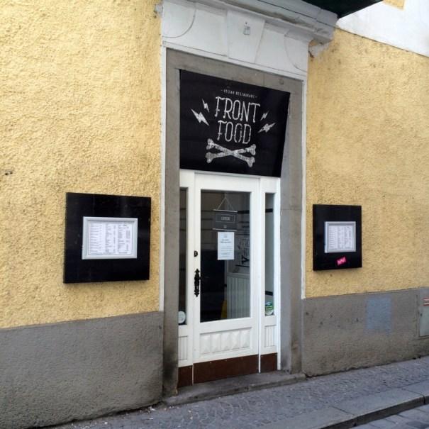 Front Food entrance