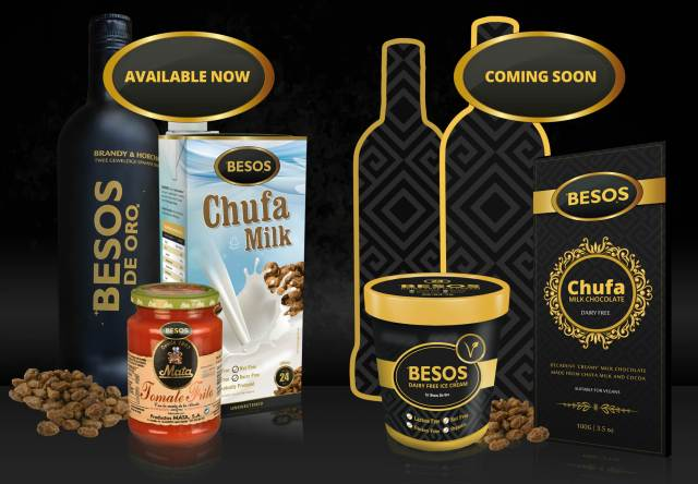 Besos new vegan products
