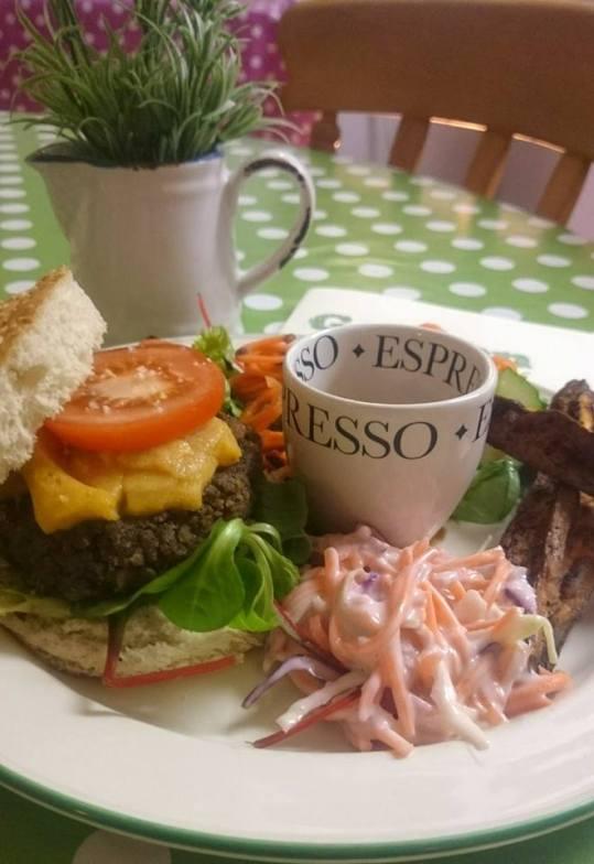 FGV vegan cheese burger - supper club