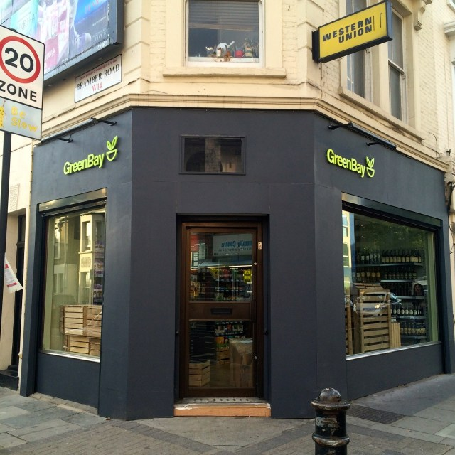 shop front greenbay