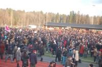 Antirasistisk demonstration i Kärrtorp