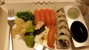 Sushi från tidigare tillfälle Foto: @Fatou Touray