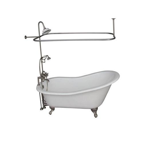 Medium Of Clawfoot Tub Shower