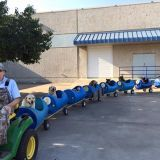 Man Makes World A Better Place With Train He Built For  Abandoned Stray Pups