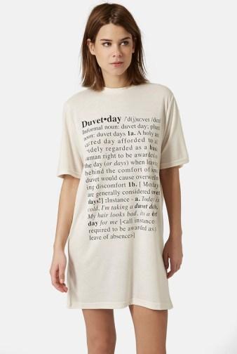 Topshop Duvet Say Sleepshirt
