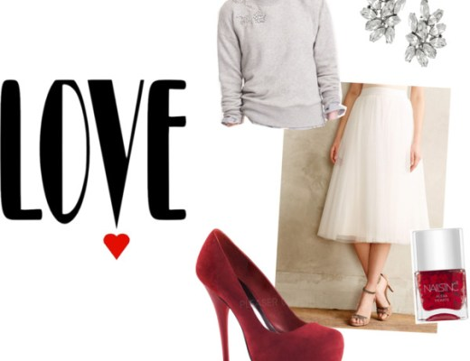 Valentine's Day Outfit from Polyvore