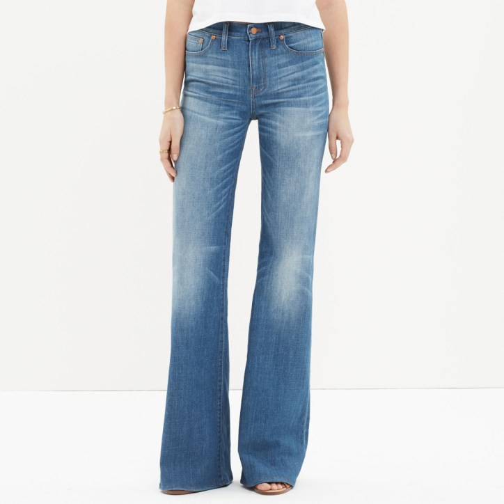 Madewell Flares