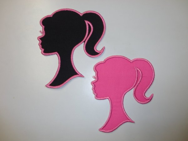 Barbie Silhouette Iron On