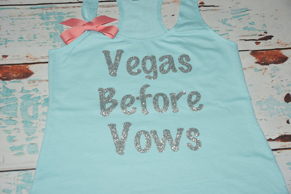 Vegas Before Vows Tank