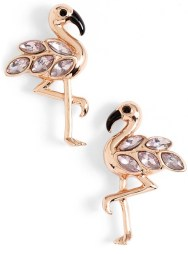Kate Spade Flamingo Stud Earrings