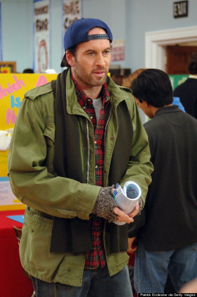 UNSPECIFIED - NOVEMBER 11:  Medium shot at school science fair of Scott Patterson as Luke.  (Photo by Patrick Ecclesine/Warner Bros./Getty Images)