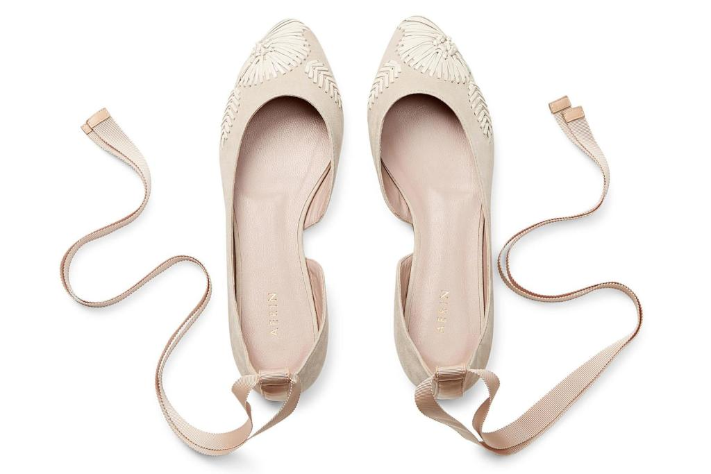 Aerin Embroidered Ballet Flat