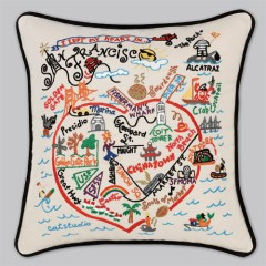 Cat Studio San Francisco Pillow