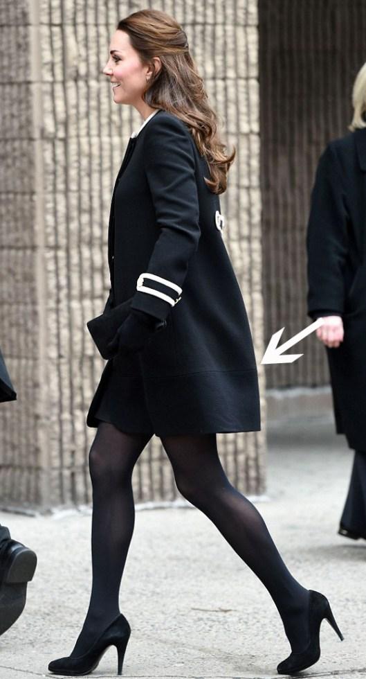 Lengthen a Coat like Kate Middleton-Rachel Fawkes San Francisco Fashion Stylist